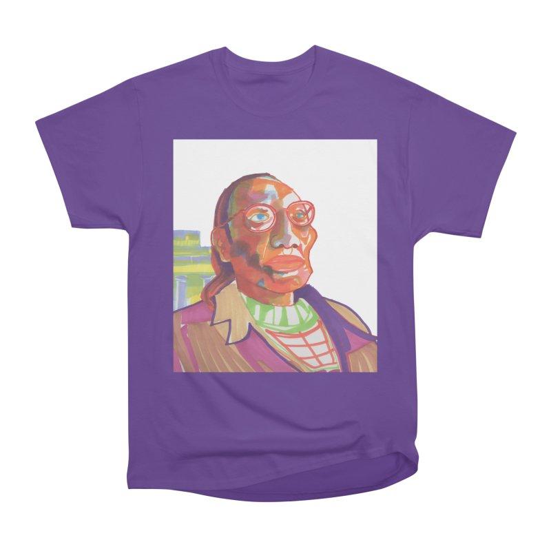 Nathan Phillips Women's Heavyweight Unisex T-Shirt by birdboogie's Artist Shop