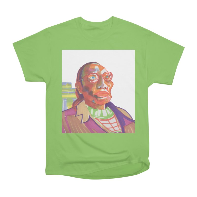 Nathan Phillips Men's Heavyweight T-Shirt by birdboogie's Artist Shop