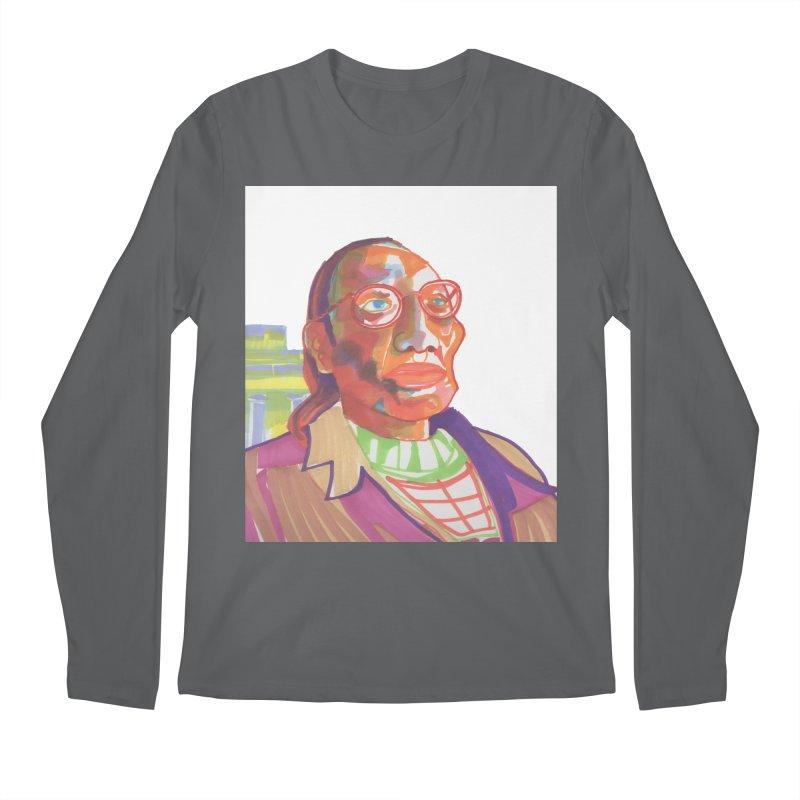 Nathan Phillips Men's Longsleeve T-Shirt by birdboogie's Artist Shop