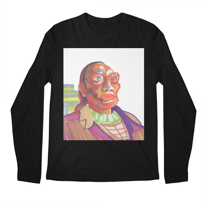 Nathan Phillips Men's Regular Longsleeve T-Shirt by birdboogie's Artist Shop