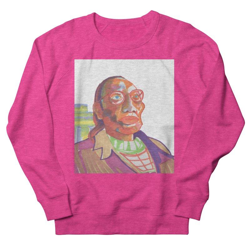 Nathan Phillips Women's French Terry Sweatshirt by birdboogie's Artist Shop
