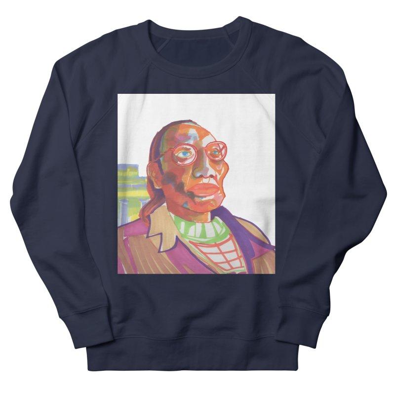 Nathan Phillips Men's French Terry Sweatshirt by birdboogie's Artist Shop