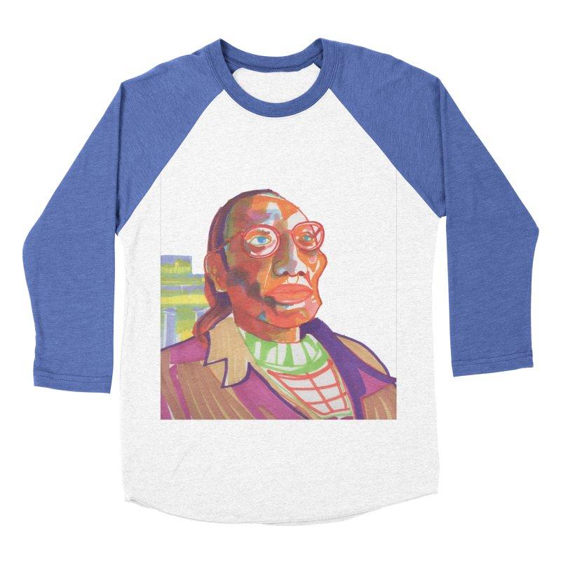 Nathan Phillips Women's Baseball Triblend Longsleeve T-Shirt by birdboogie's Artist Shop