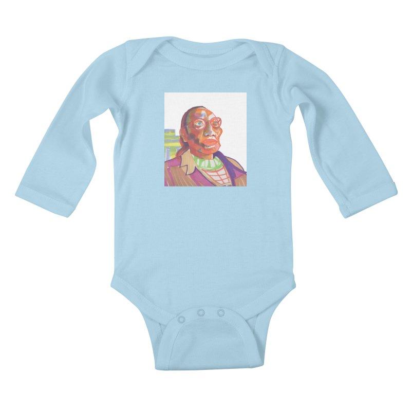 Nathan Phillips Kids Baby Longsleeve Bodysuit by birdboogie's Artist Shop