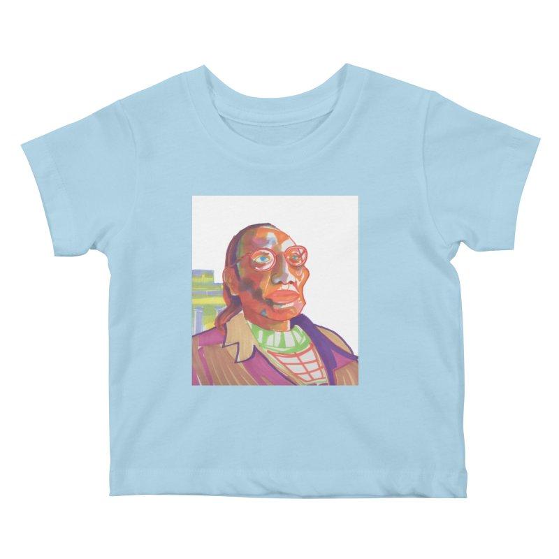 Nathan Phillips Kids Baby T-Shirt by birdboogie's Artist Shop