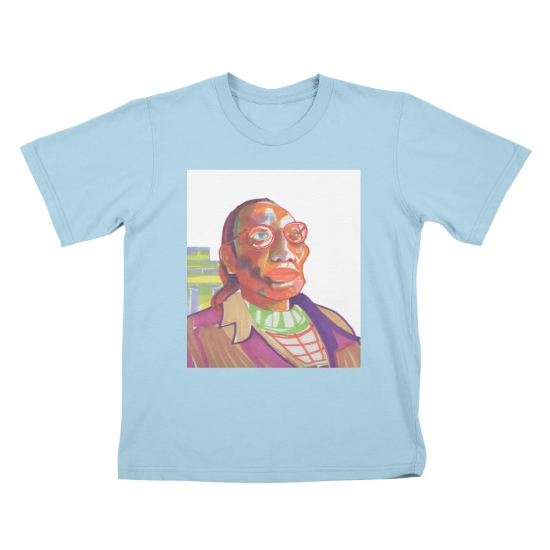 Nathan Phillips Kids T-Shirt by birdboogie's Artist Shop