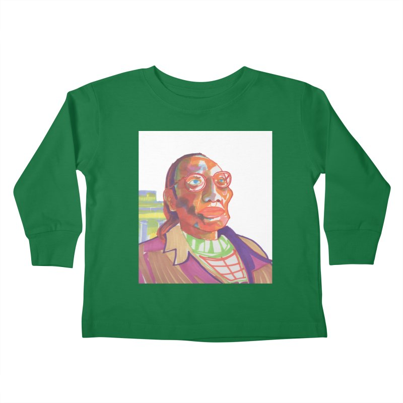 Nathan Phillips Kids Toddler Longsleeve T-Shirt by birdboogie's Artist Shop