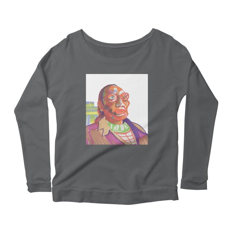 Nathan Phillips Women's Scoop Neck Longsleeve T-Shirt by birdboogie's Artist Shop