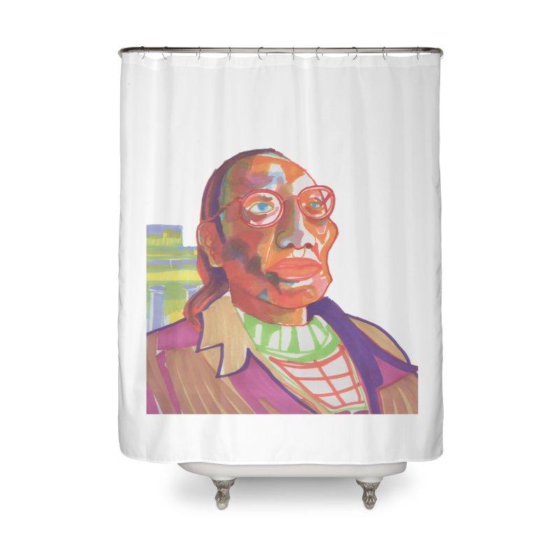 Nathan Phillips Home Shower Curtain by birdboogie's Artist Shop