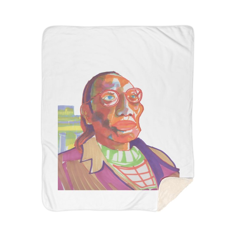 Nathan Phillips Home Blanket by birdboogie's Artist Shop