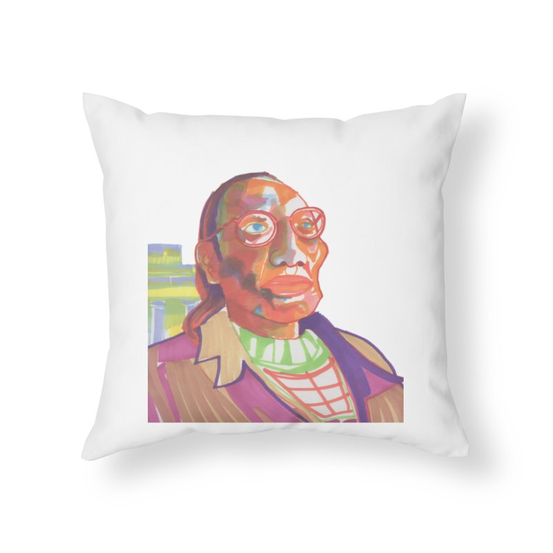Nathan Phillips Home Throw Pillow by birdboogie's Artist Shop
