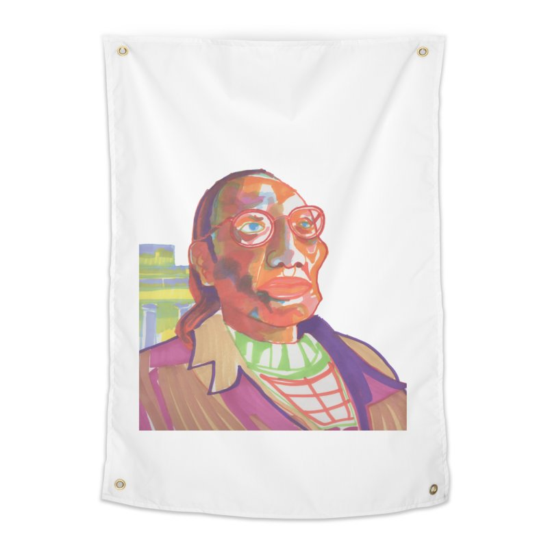 Nathan Phillips Home Tapestry by birdboogie's Artist Shop