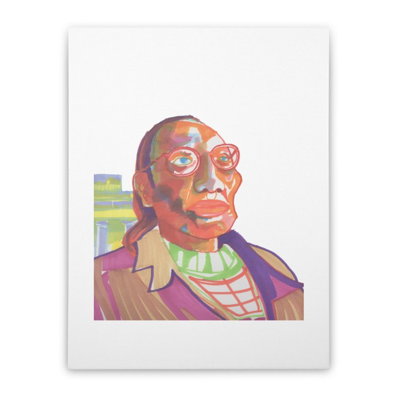 Nathan Phillips Home Stretched Canvas by birdboogie's Artist Shop