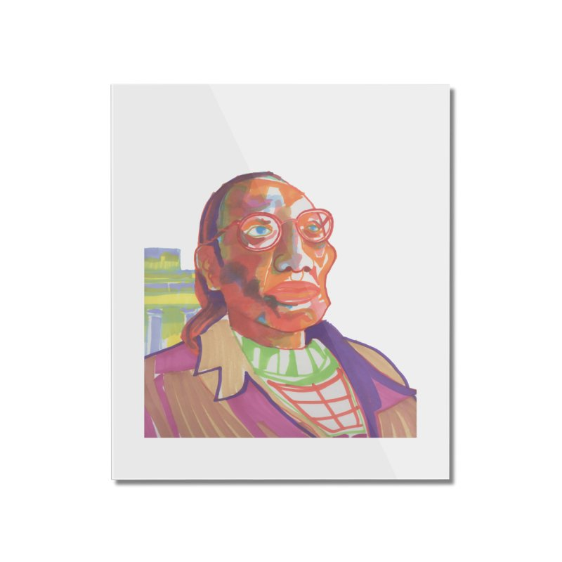 Nathan Phillips Home Mounted Acrylic Print by birdboogie's Artist Shop