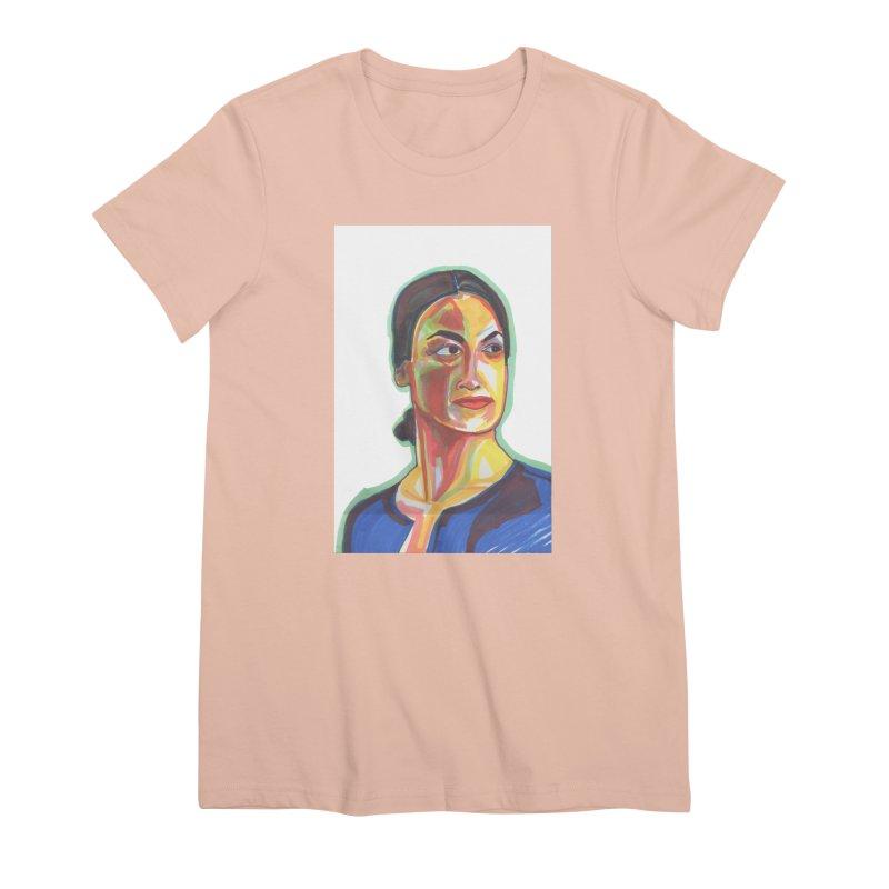 AOC Women's Premium T-Shirt by birdboogie's Artist Shop