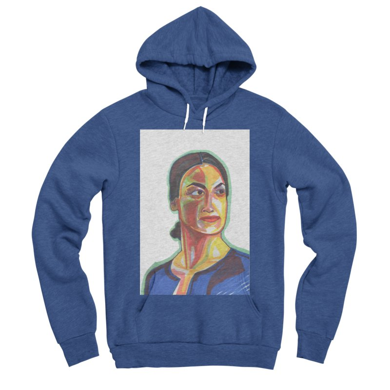 AOC Women's Sponge Fleece Pullover Hoody by birdboogie's Artist Shop