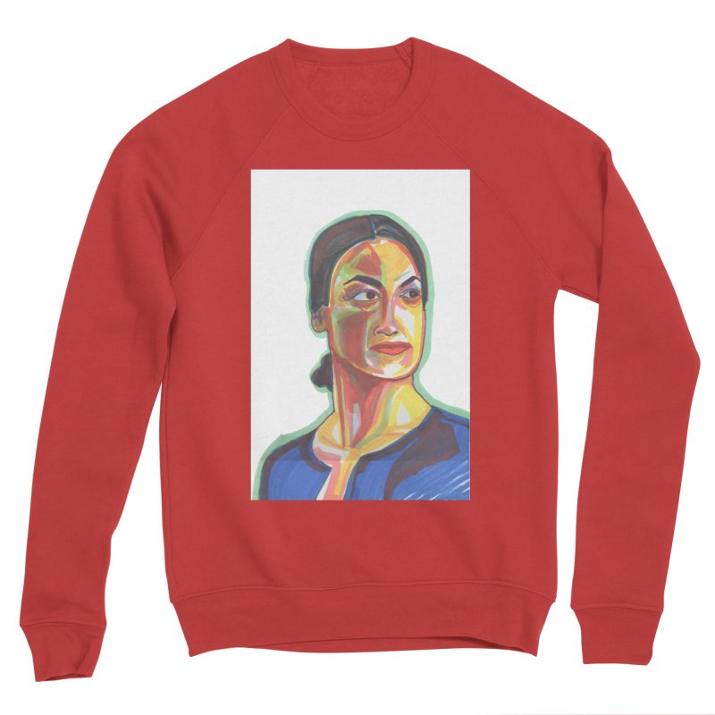 AOC Women's Sponge Fleece Sweatshirt by birdboogie's Artist Shop