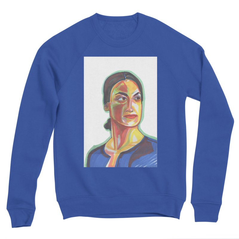 AOC Men's Sponge Fleece Sweatshirt by birdboogie's Artist Shop