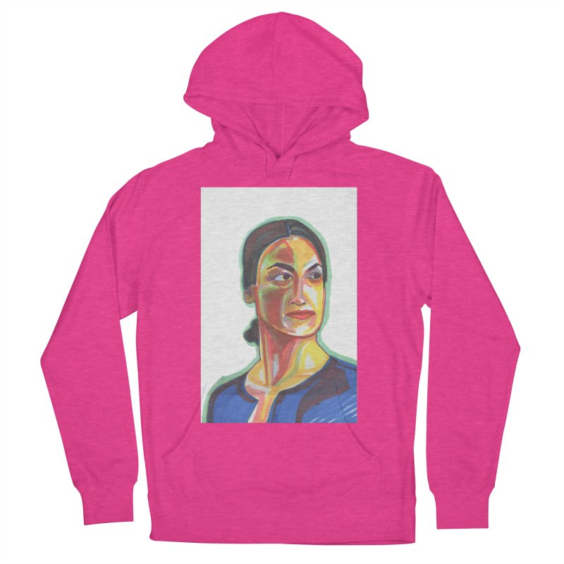 AOC Women's French Terry Pullover Hoody by birdboogie's Artist Shop