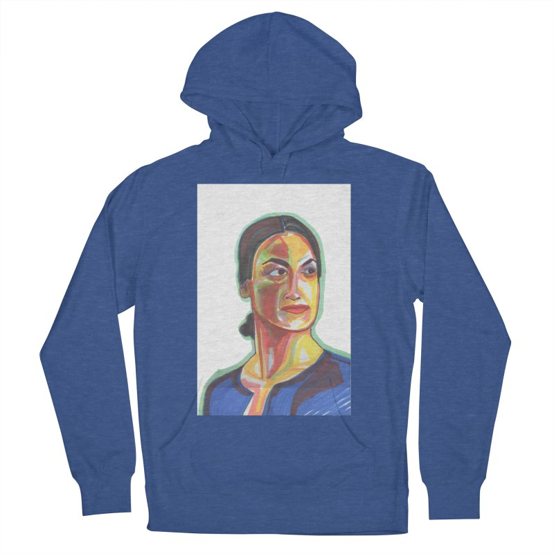 AOC Men's French Terry Pullover Hoody by birdboogie's Artist Shop