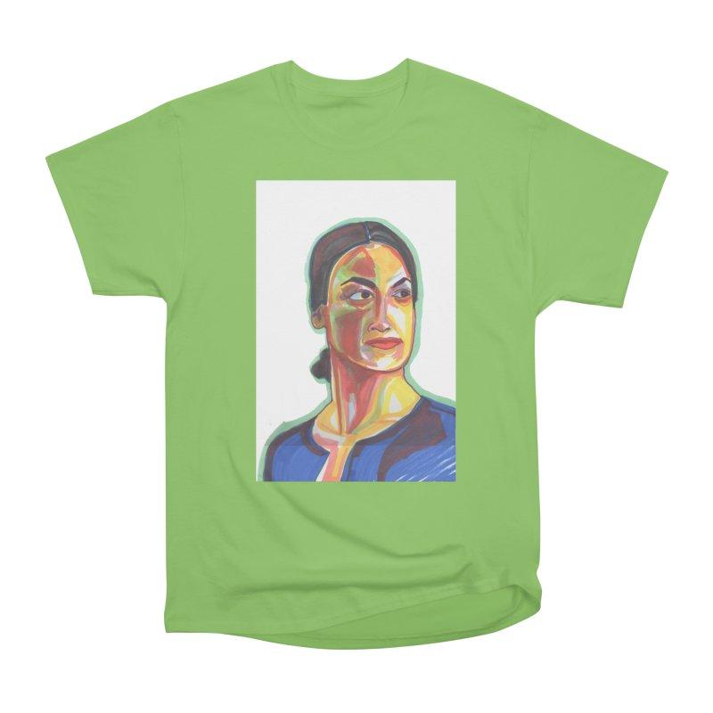 AOC Women's Heavyweight Unisex T-Shirt by birdboogie's Artist Shop