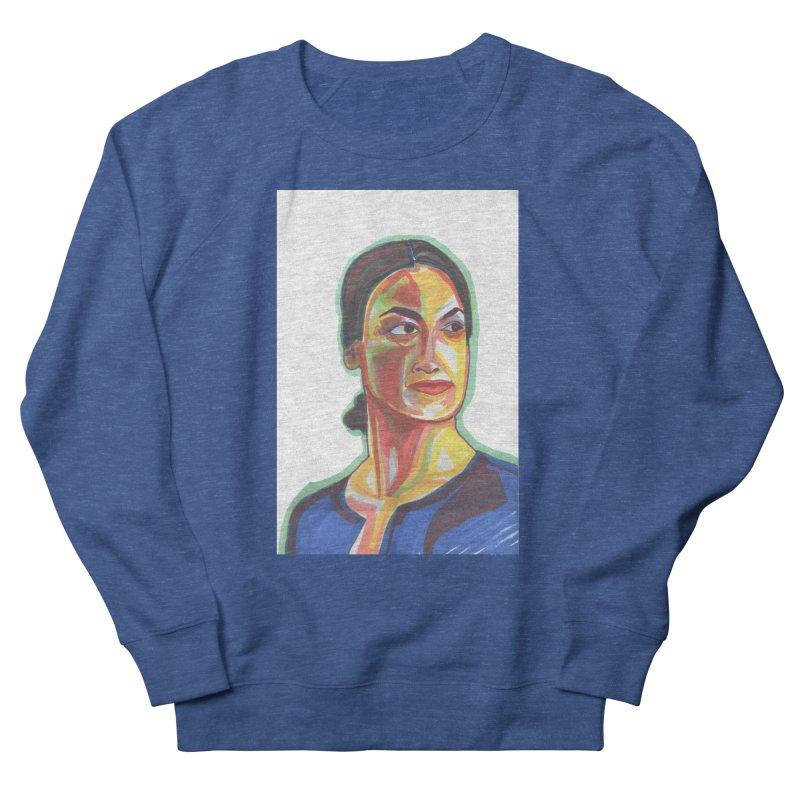 AOC Women's French Terry Sweatshirt by birdboogie's Artist Shop