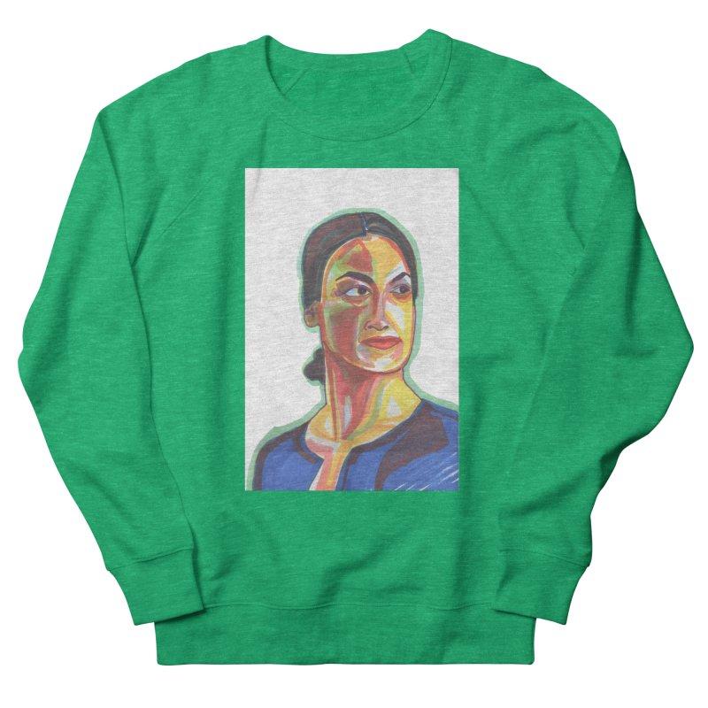 AOC Men's French Terry Sweatshirt by birdboogie's Artist Shop
