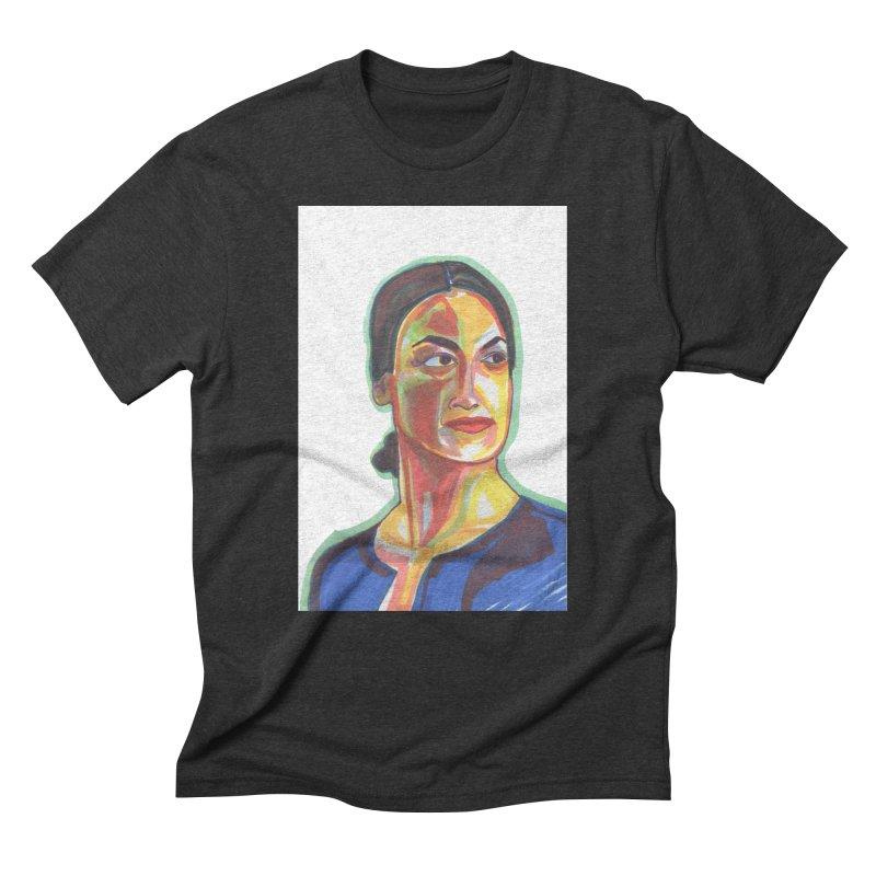 AOC Men's Triblend T-Shirt by birdboogie's Artist Shop