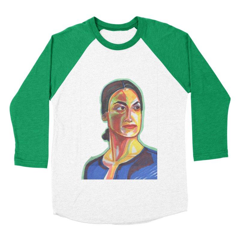 AOC Men's Baseball Triblend Longsleeve T-Shirt by birdboogie's Artist Shop