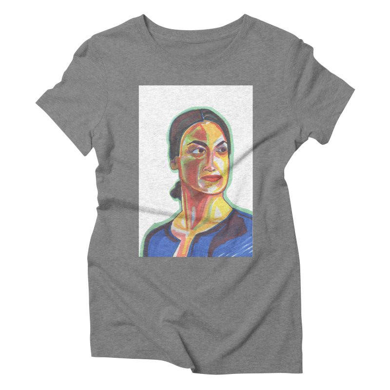 AOC Women's Triblend T-Shirt by birdboogie's Artist Shop