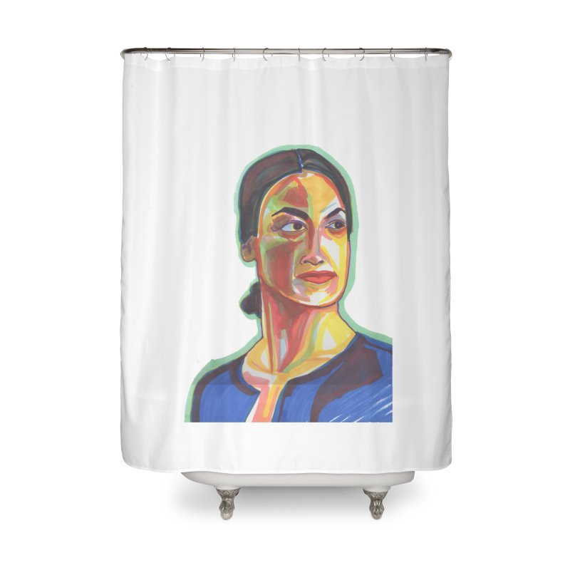 AOC Home Shower Curtain by birdboogie's Artist Shop