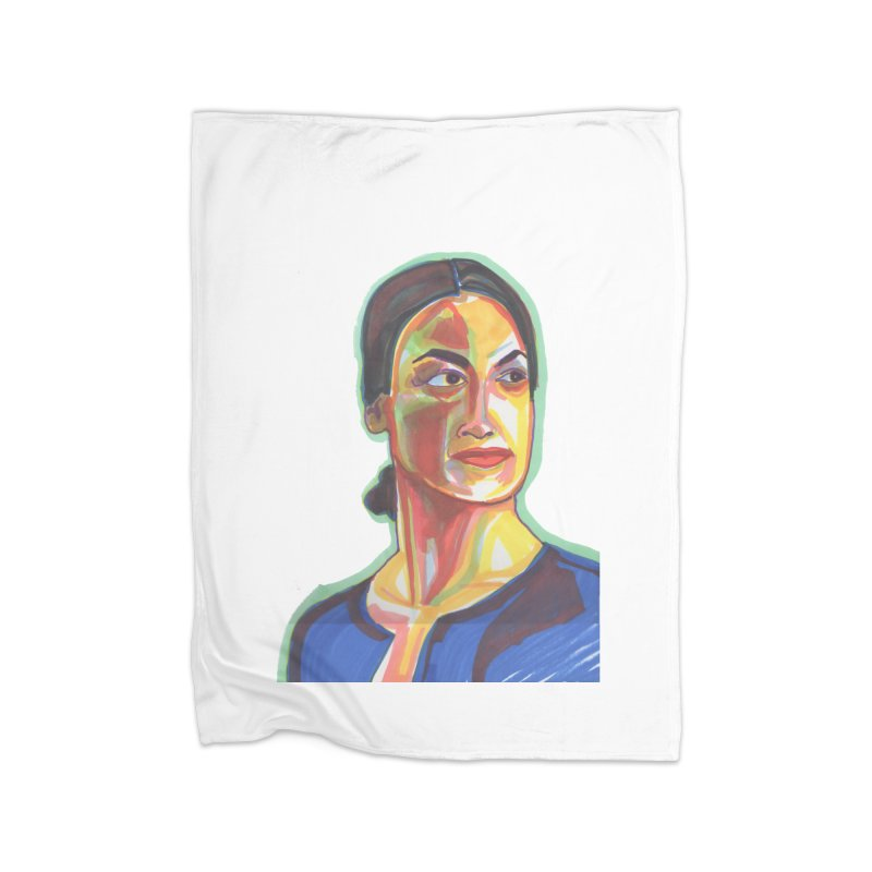 AOC Home Fleece Blanket Blanket by birdboogie's Artist Shop