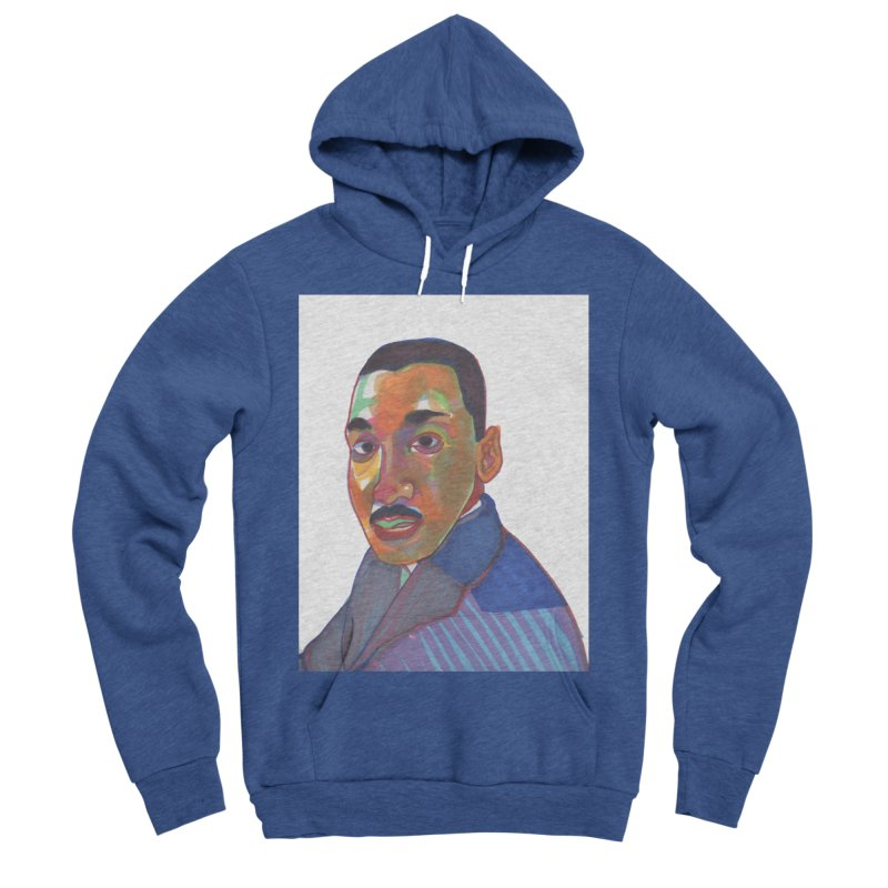 MLK Women's Sponge Fleece Pullover Hoody by birdboogie's Artist Shop