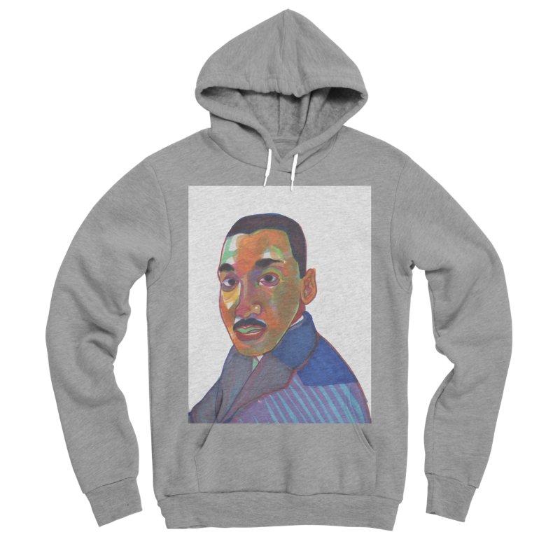 MLK Men's Sponge Fleece Pullover Hoody by birdboogie's Artist Shop