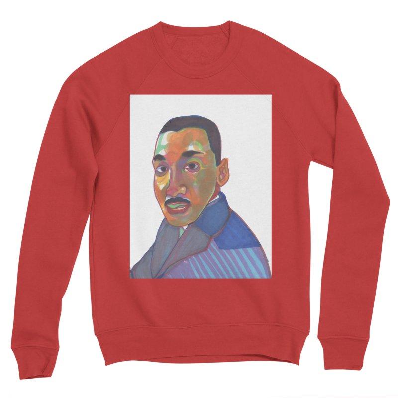 MLK Men's Sponge Fleece Sweatshirt by birdboogie's Artist Shop