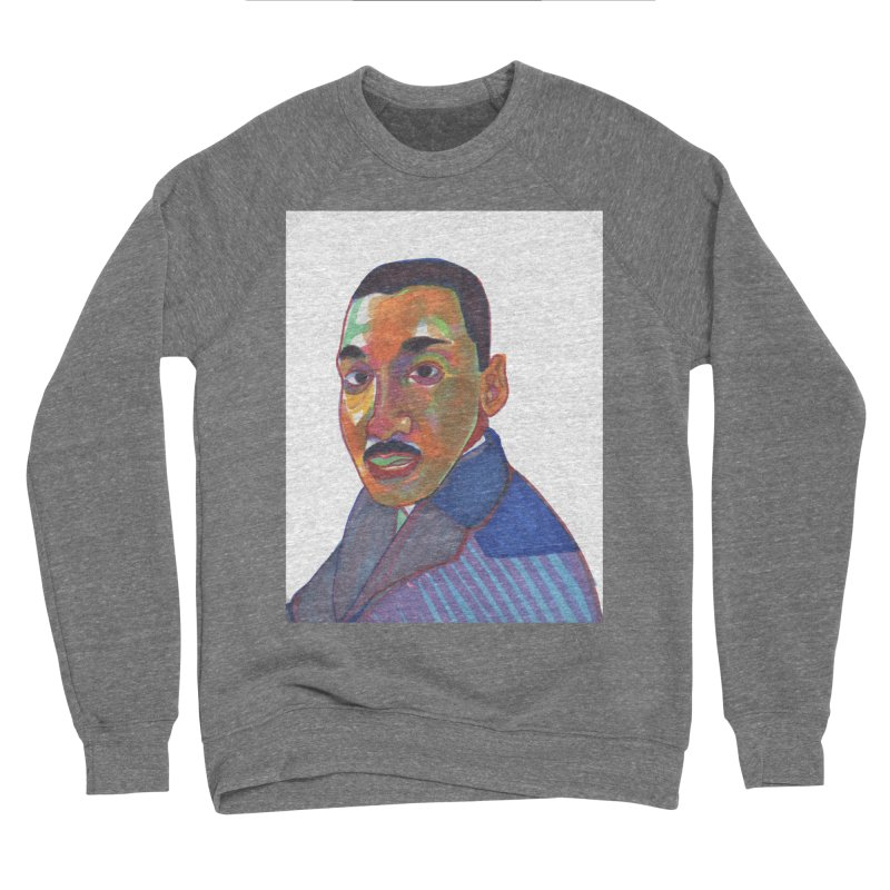MLK Women's Sponge Fleece Sweatshirt by birdboogie's Artist Shop