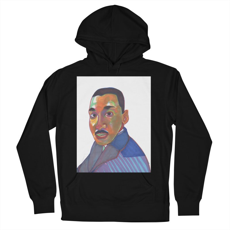MLK Women's French Terry Pullover Hoody by birdboogie's Artist Shop