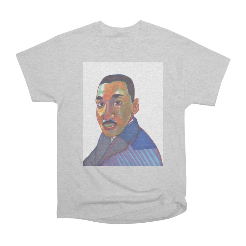 MLK Men's Heavyweight T-Shirt by birdboogie's Artist Shop