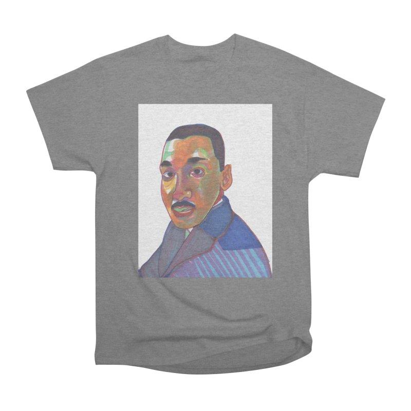 MLK Men's Heavyweight T-Shirt by birdboogie's Artist Shop