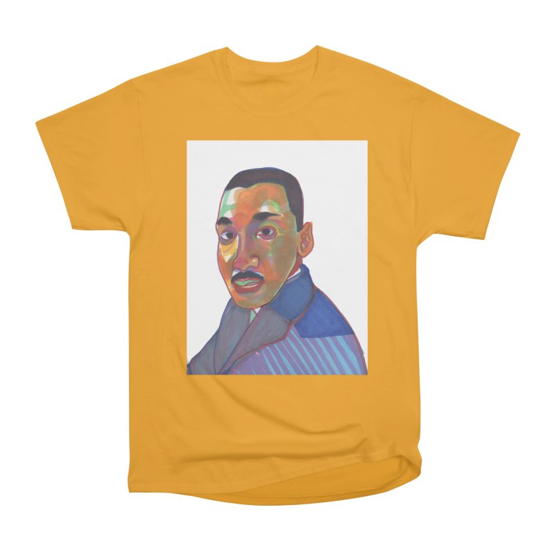 MLK Women's Heavyweight Unisex T-Shirt by birdboogie's Artist Shop