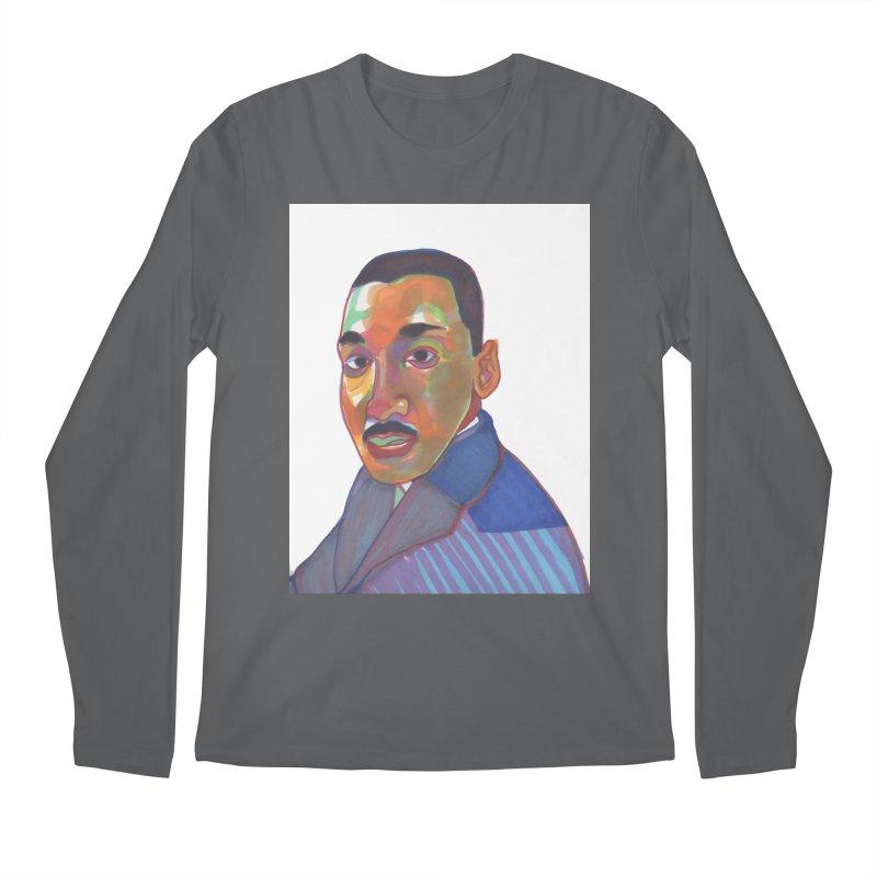 MLK Men's Longsleeve T-Shirt by birdboogie's Artist Shop