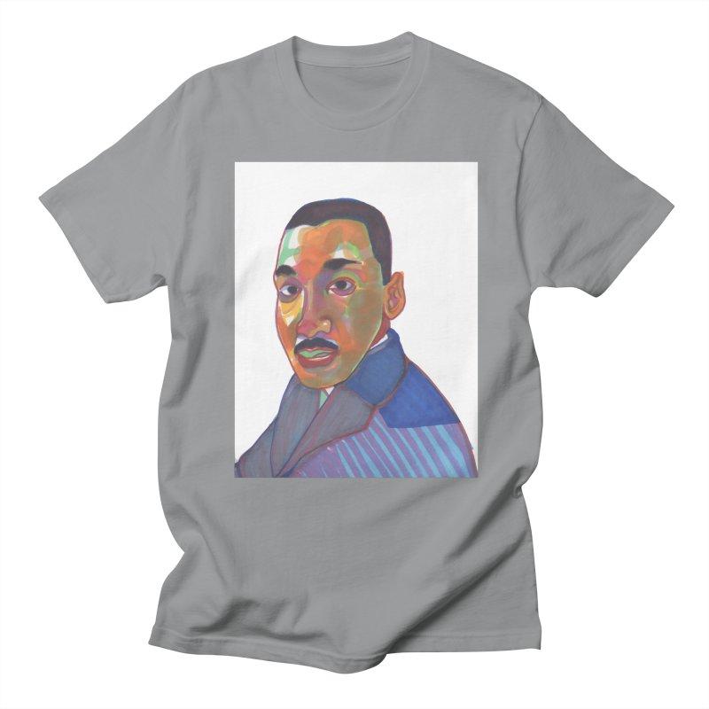 MLK Men's Regular T-Shirt by birdboogie's Artist Shop