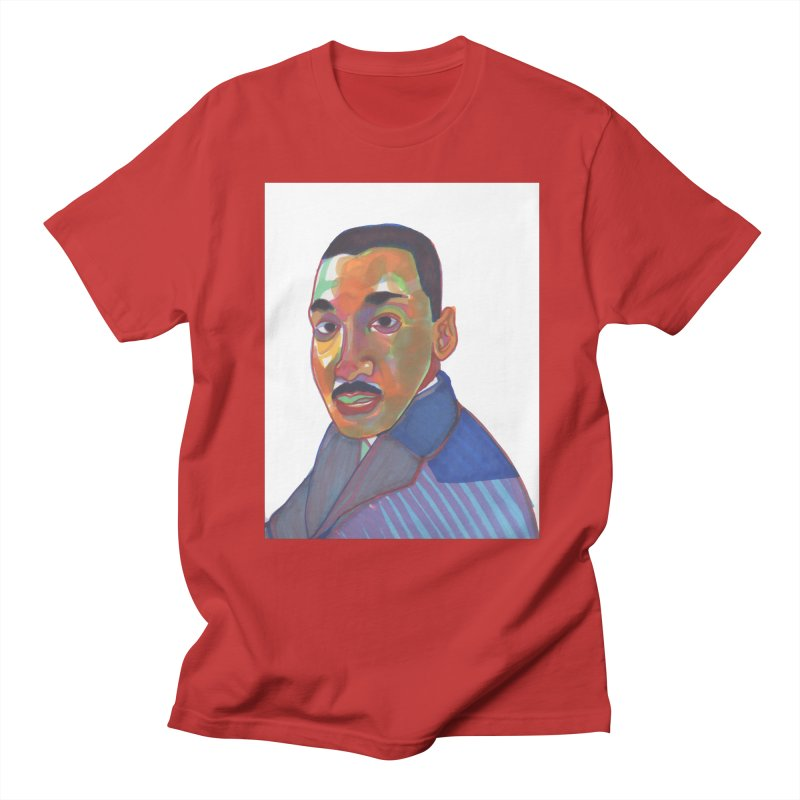 MLK Women's Regular Unisex T-Shirt by birdboogie's Artist Shop