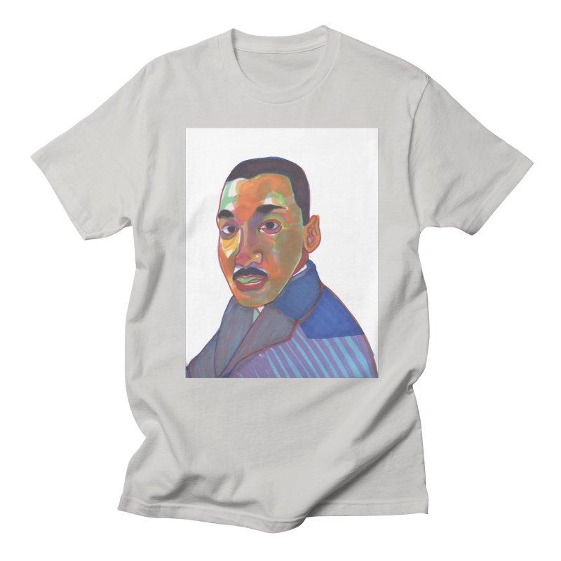 MLK Men's T-Shirt by birdboogie's Artist Shop