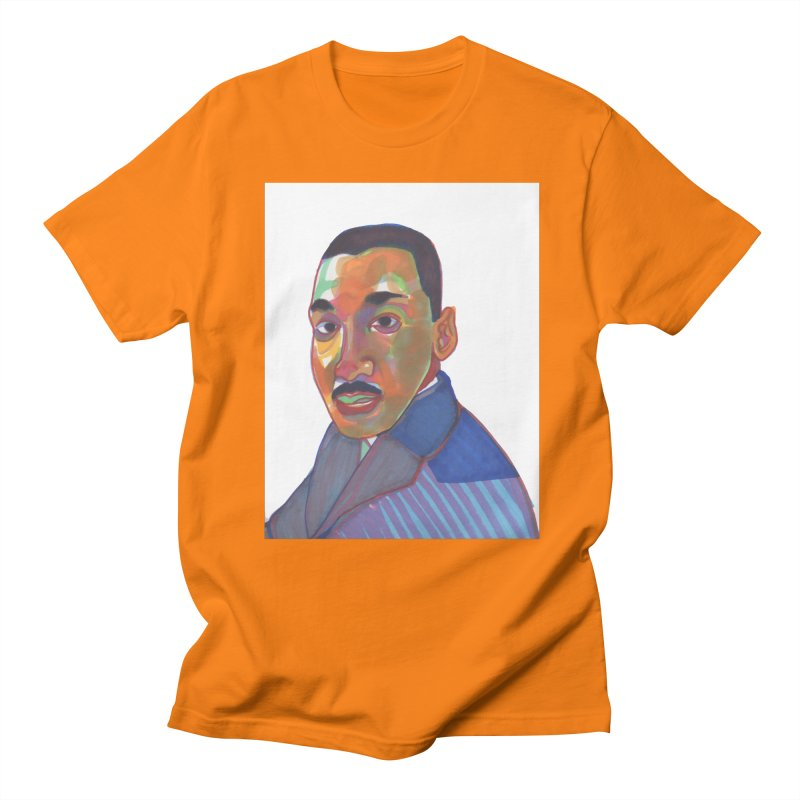 MLK Men's T-Shirt by birdboogie's Artist Shop