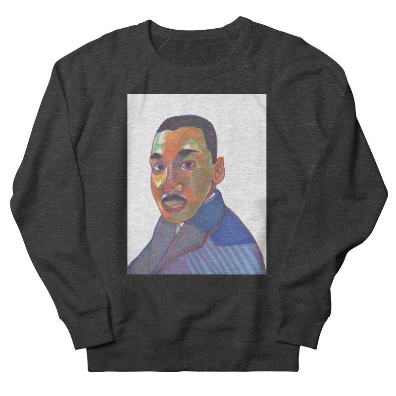 MLK Women's French Terry Sweatshirt by birdboogie's Artist Shop