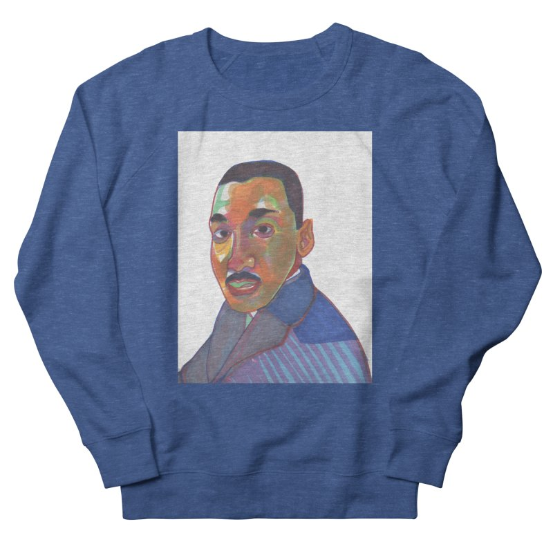 MLK Men's Sweatshirt by birdboogie's Artist Shop
