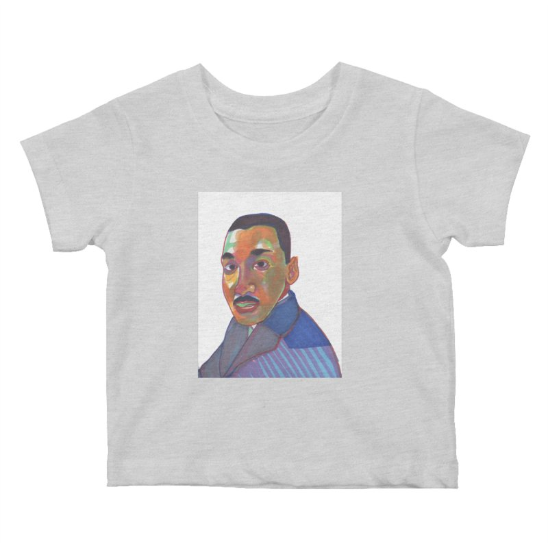 MLK Kids Baby T-Shirt by birdboogie's Artist Shop