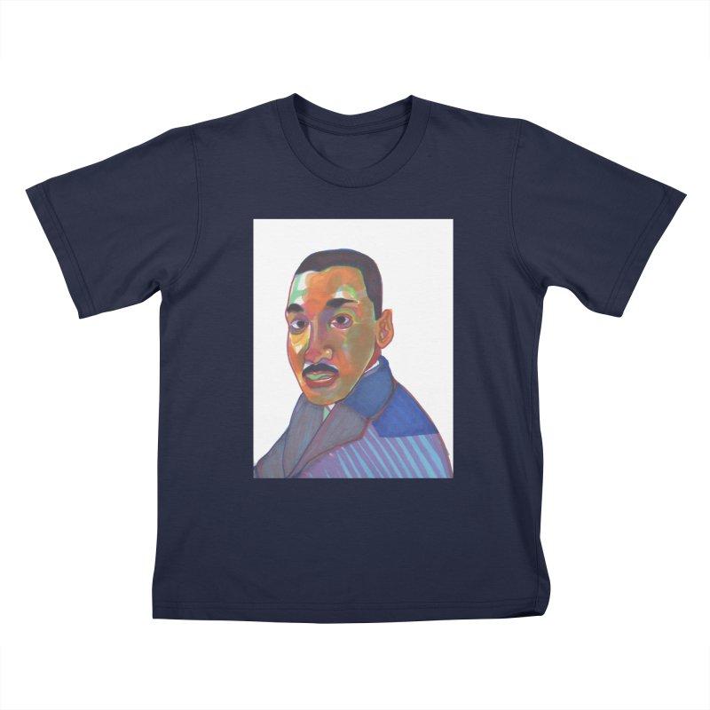 MLK Kids T-Shirt by birdboogie's Artist Shop