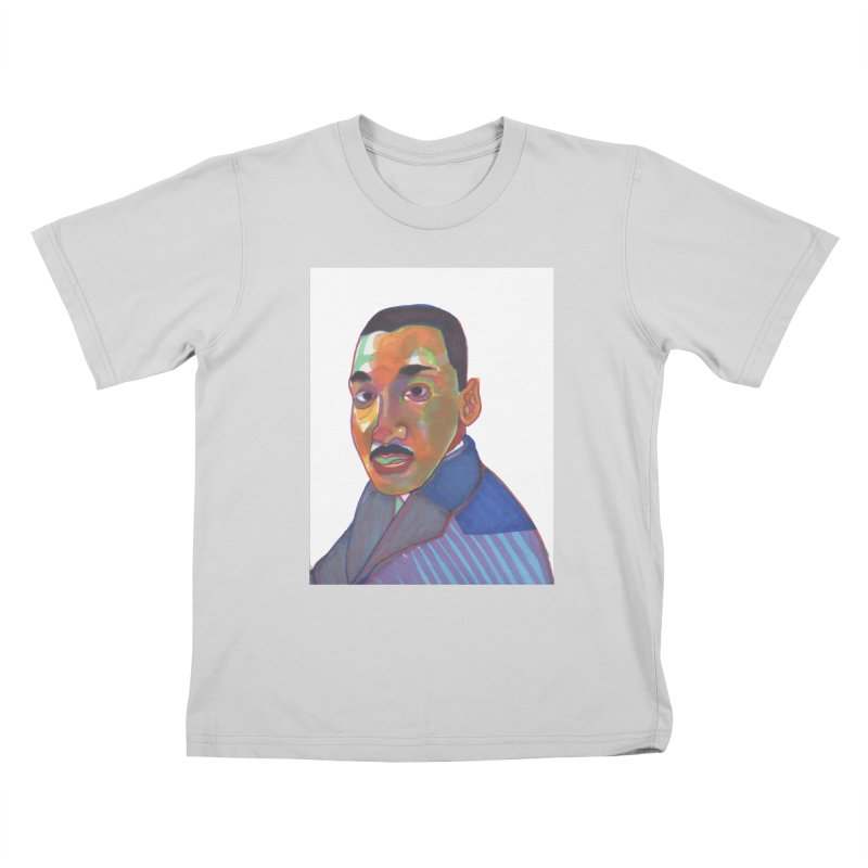MLK Kids T-Shirt by birdboogie's Artist Shop